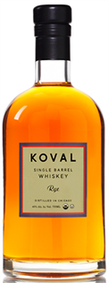 Koval Rye Whiskey Single Barrel 750ml